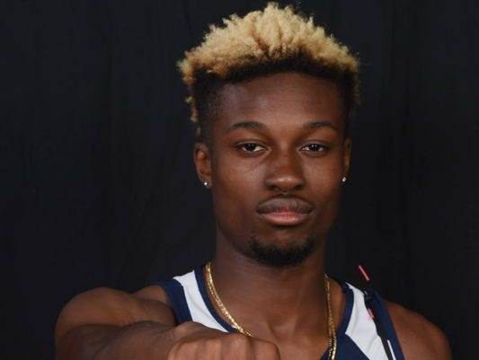 Rayvon Grey, player of the year, Beacon track & field