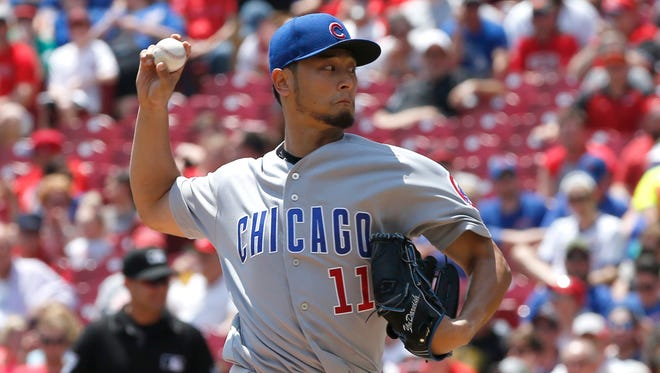 Chicago Cubs starting pitcher Yu Darvish has been placed on the disabled list.