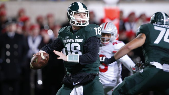 """Connor Cook said last year's loss to Ohio State was """"sickening"""" because it dashed MSU's title hopes."""