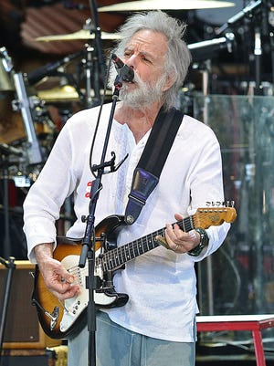 Vocalist and guitarist Bob Weir of Dead & Company, pictured in June.