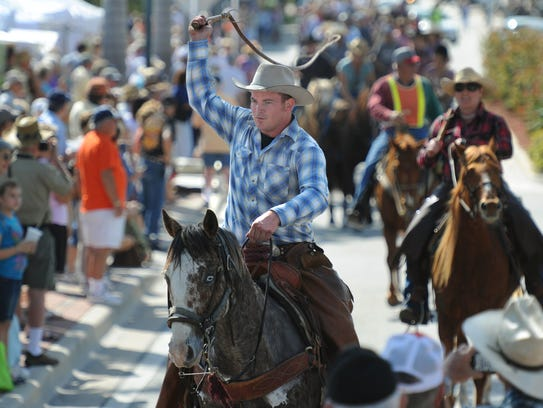 The annual Florida Cracker Trail Ride across the state ends with a parade about 10 a.m. Saturday through downtown Fort Pierce.
