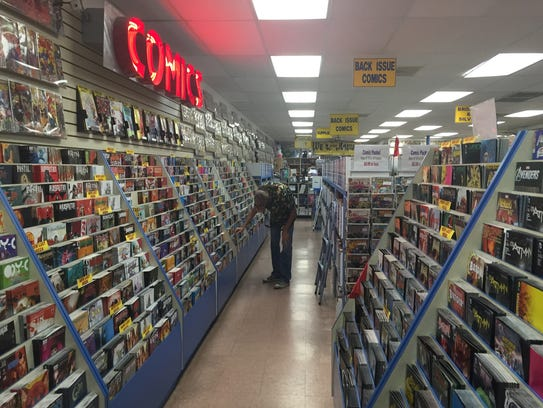 All About Books and Comics has been open for more than