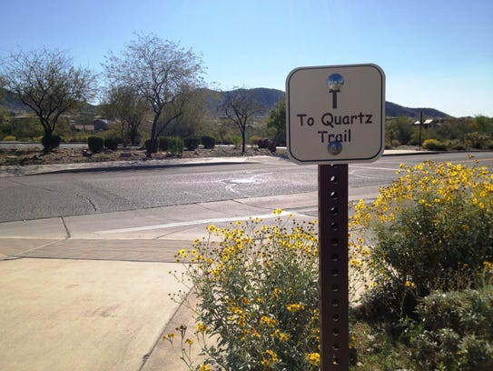 Quartz Trailhead in Scottsdale.