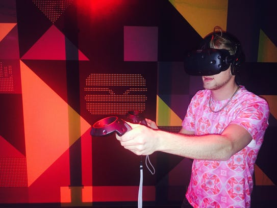 The McDonald's virtual reality experience during SXSW