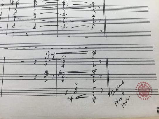 """Aaron Copland dated his """"Fanfare for the Common Man"""""""