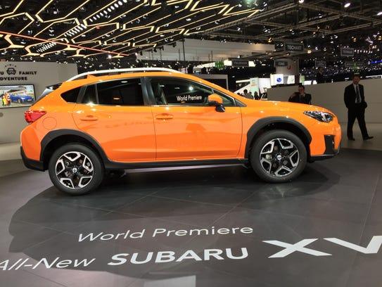 Subaru's revamped XV Crosstrek