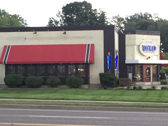 Uno Pizzeria and Grill in South Burlington is seen
