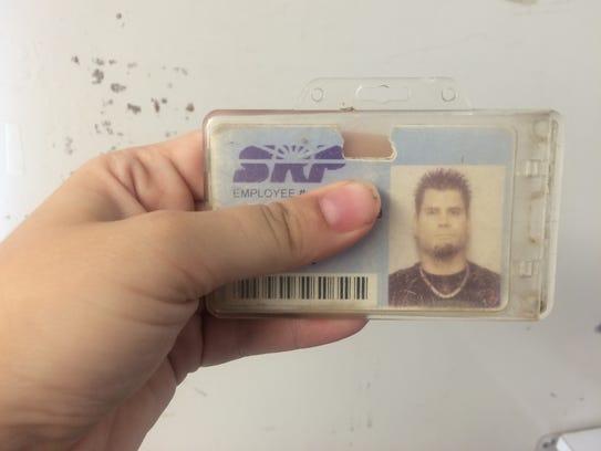 An SRP ID card at Country Thunder Arizona 2018