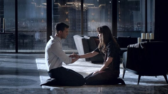 Jamie Dornan and Dakota Johnson are back as Christian