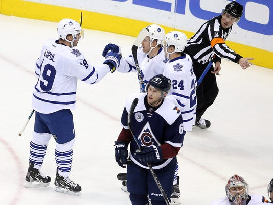 USP NHL: TORONTO MAPLE LEAFS AT COLORADO AVALANCHE S HKN USA CO