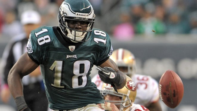 Eagles WR Jeremy Maclin missed the 2013 season with a torn ACL.