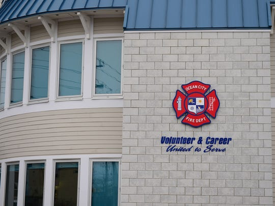 Ocean City Fire Department Station #4 located on 12925