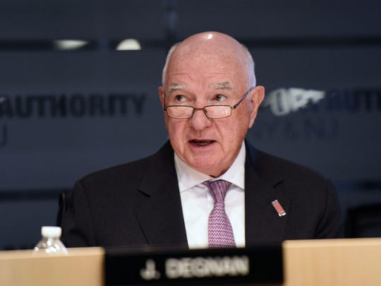 John Degnan stepped down in August as chairman of the Port Authority of New York and New Jersey