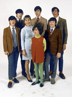"""The Cowsills' biggest hit, """"The Rain, the Park & Other Things,"""" reached No. 2 on the Billboard chart in 1967."""