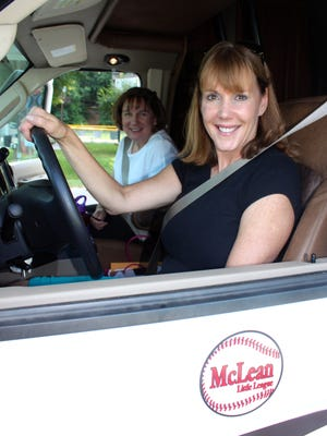 USA TODAY reporter and RV newbie Jayne O'Donnell and Mary Ellen Stahlman prepare to drive 700 miles to Warner Robins, Ga., for their daughters' softballchampionship games.