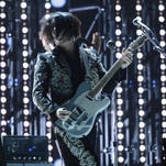 "Jack White performs ""Love Interruption"" and ""Freedom at 21"" at the 2013 Grammy Awards."