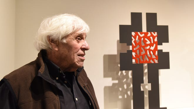 """Artist Mel Katz discusses his work that is on exhibit June 6-Aug. 23 at the Hallie Ford Museum of Art in a 50-year major retrospective called """"Mel Katz: On and Off the Wall."""""""