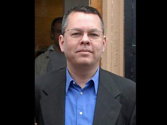 Andrew Brunson, an American pastor, stands in Izmir,