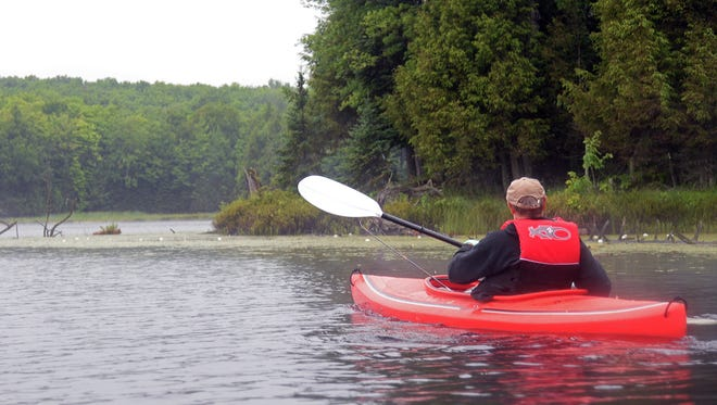 "Canoes, paddleboards and one-person kayaks are driving a boom in ""silent sports"" across northern Wisconsin over the past decade."