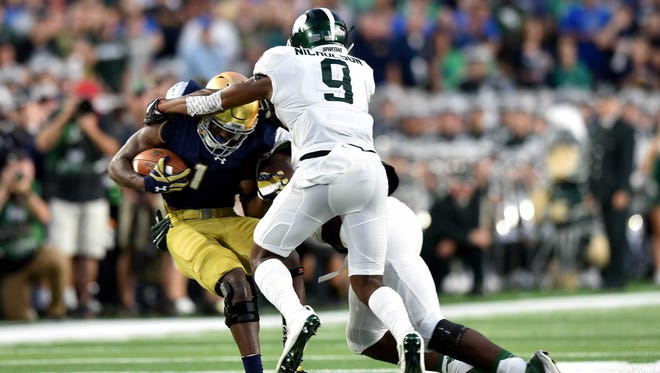 Detroit News staff writers believe the Spartans can turn things around against the Terrapins.