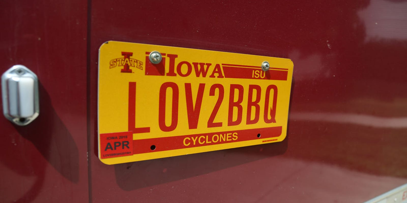 Quiz: Were these personalized license plate requests approved or rejected by the Iowa DOT?