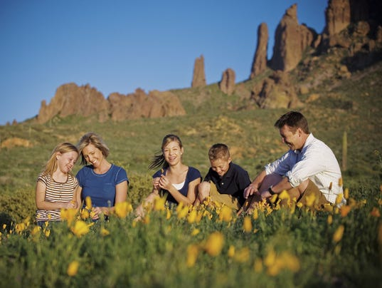 Best Places To Take Family Photos In Chandler Mesa