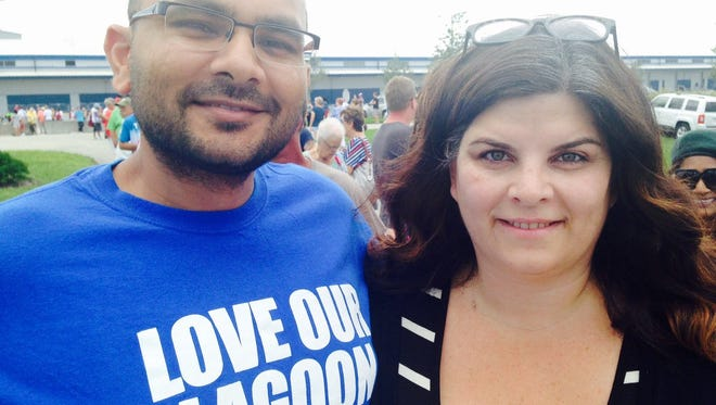 "Sanjay Patel is Brevard County's Democratic state committeeman, and his wife, Stacey Patel, is chair of the Brevard County Democratic Executive Committee. In discussing efforts to elect Democrats to municipal office, Sanjay Patel said: ""We're following the rules. There's nothing that prevents us from supporting candidates."""