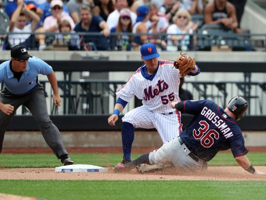 MLB: Minnesota Twins at New York Mets