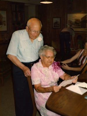 William H. and Vera F. Messinger, Paul's parents. His mom made baked treats for his mortuary staff and taught them a lot about showing kindness.