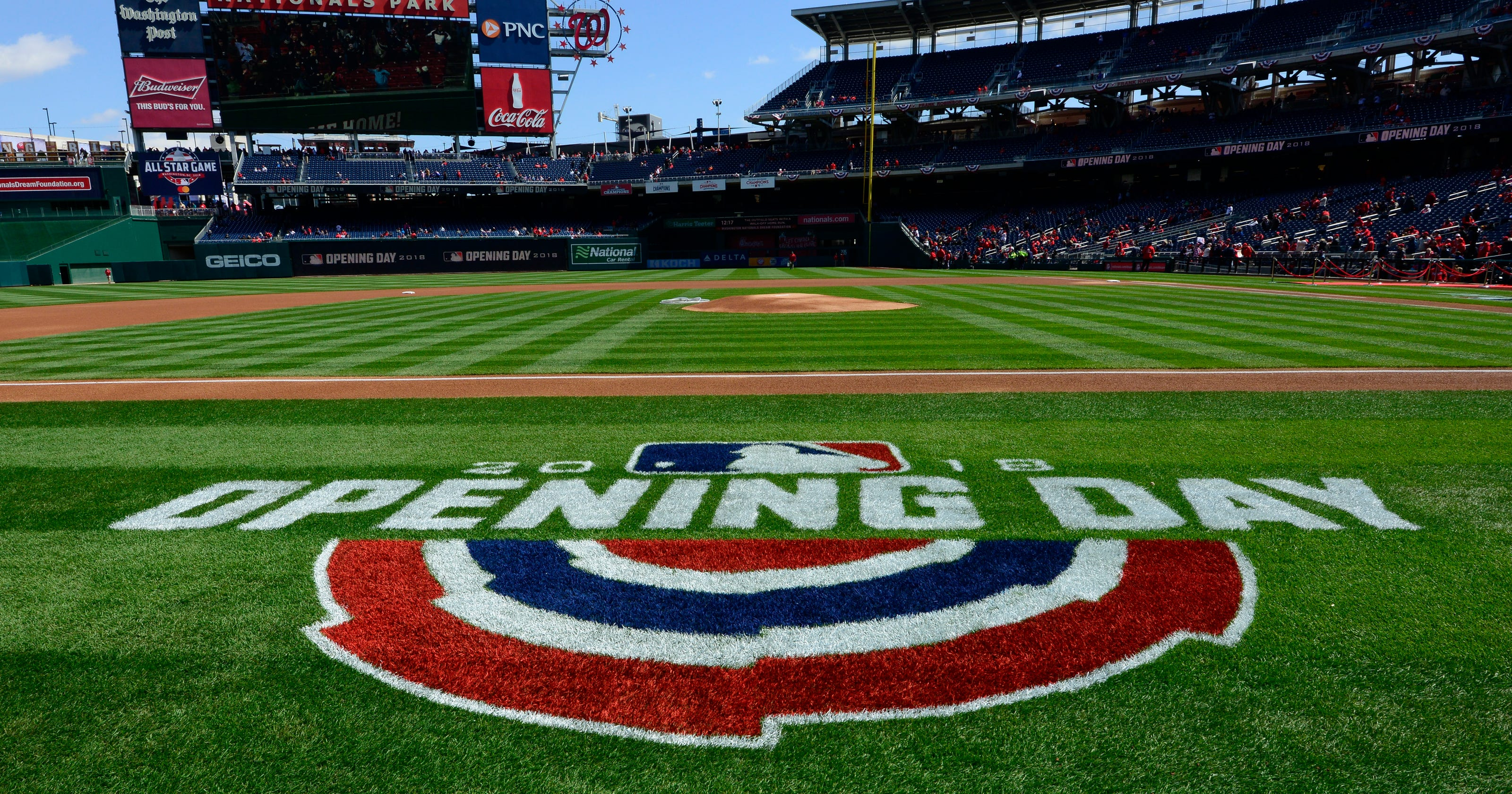Image result for opening day yankees 2019