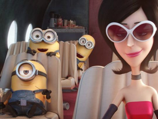 Before the minions met Gru, they worked for Scarlet