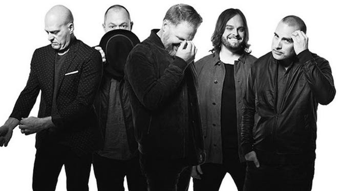 MercyMe performs Thursday at American Bank Center.