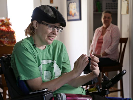 Vanessa Montgomery, made a quadriplegic from an attack