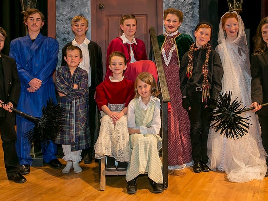 Perform Murfreesboro cast of 'Magic Tree House: A Ghost Tale for Mr. Dickens Jr.' Show times are 7 p.m. Friday and Saturday and 2 p.m. Sunday.