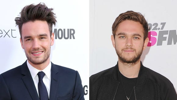 Laim Payne, left, and Zedd.