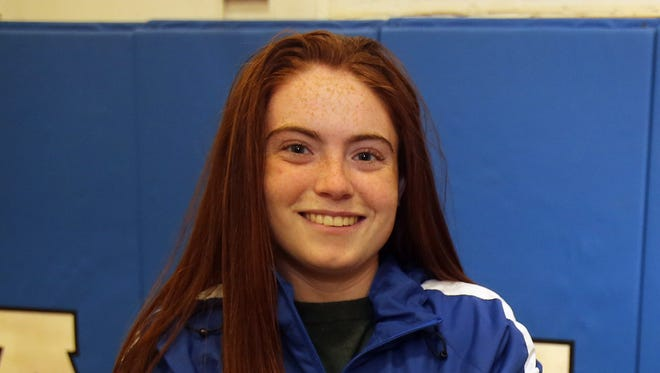 Pearl River senior Shaelynn Guilfoyle, who is photographed at Pearl River High School on Nov. 28, 2016 is The Journal News/lohud Rockland soccer player of the year.