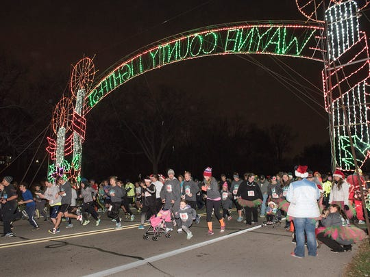 The race begins at Merriman Hollow in Hines Park.
