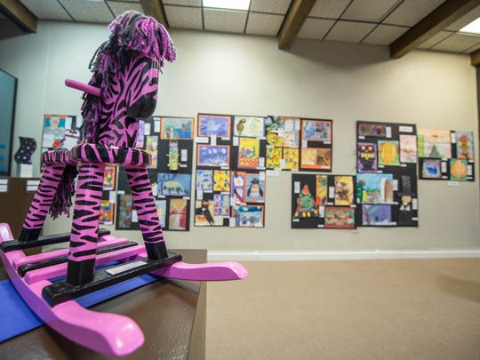 "Area schools have art displayed at The Art Center of Battle Creek as part of ""A Class Act,"" on display now."