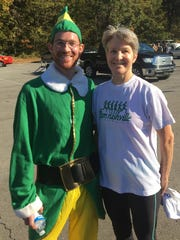 First place winner Jacob Carrigan came dressed as a Christmas elf.