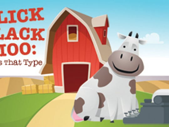"""""""Click, Clack, Moo: Cows That Type"""""""