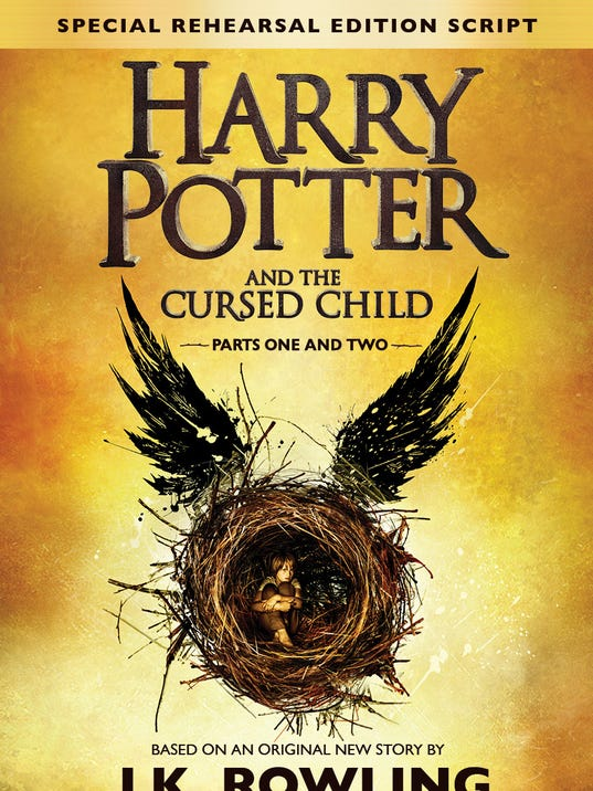 Book Cover Portadas Reviews : Review 'cursed child script book is almost 'harry potter
