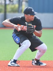Isaac Paredes, at 5-foot-11 and 225 pounds, must manage his weight is he's to stick at shortstop in the Tigers system.