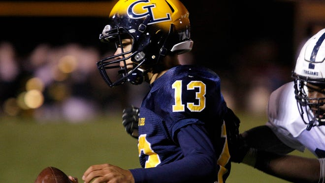 Grand Ledge's Nolan Bird (13) was one of the top performers in Friday's playoff openers.