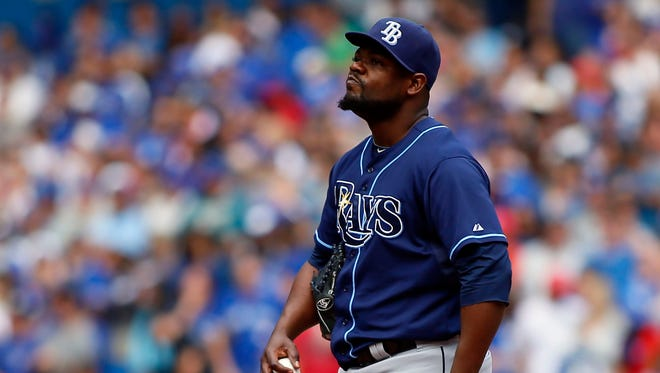 Former Tampa Bay Rays pitcher Fernando Rodney reportedly signs a two-year, $14 million deal with the Seattle Mariners.