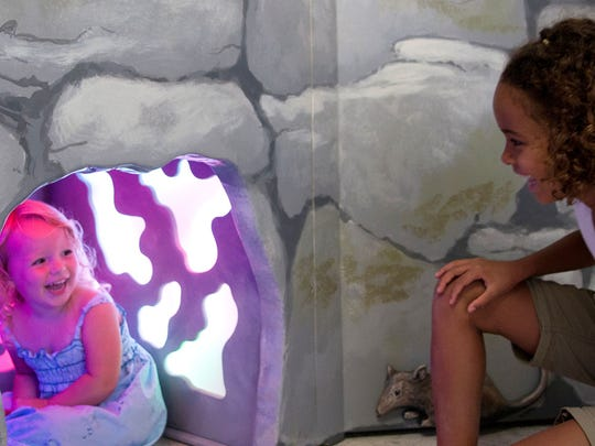 """The Strong National Museum of Play's """"Dinosaurs: Land of Fire and Ice"""" exhibit."""