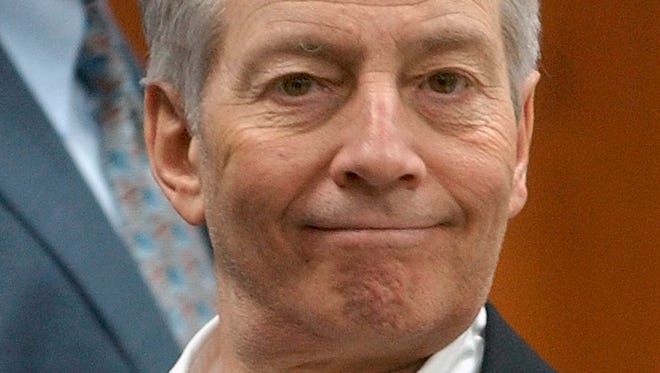 Robert Durst is shown in a file photo from Sept. 25, 2003.