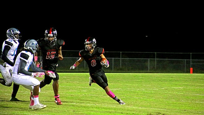 Action from the Friday, Oct. 6, 2017 high school football game between South Fort Myers and East Lee.