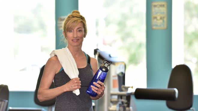 Kaye Whittenberg's fountain of youth is found in a daily fitness session.