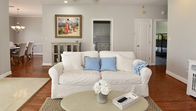 1708 Ensenada Uno, the living room is filled with natural light.