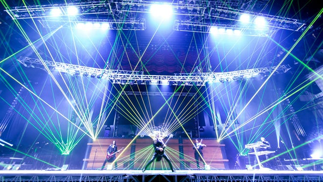 The Trans-Siberian Orchestra is playing Saturday at the Palace.